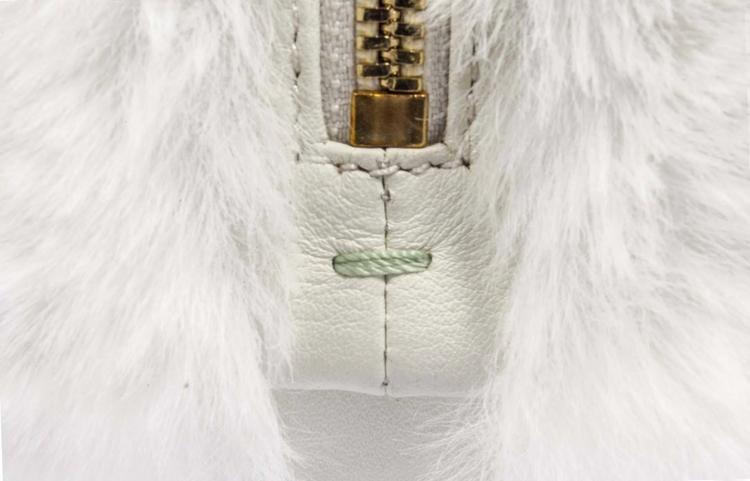 Egg Eco Fur Bianco