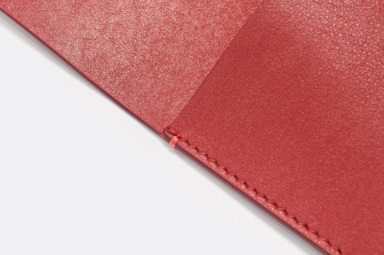 Picture of Anouk Leather Red